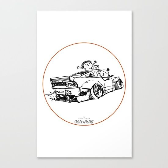Crazy Car Art 0007 - $85