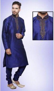 Blue Color Art Silk Party Wear Readymade Men Churidar Kurta | FH554982866 Follow us @heenastyle  #menethnicwear #kurtapyjama #diwalidhamaka #menwear #ethnicwear #menethnicwear #kurta #menkurta #menkurtapyjama #Sherwani #indiankurtapyjama #instalike #instalove #follow4follow. #bhaiKiShaad #shervani #tradional #lucknow #selfiee #throwback #marriage #shervani #manyavar #heenastyle #menskurtapajama #menchuridarkurta