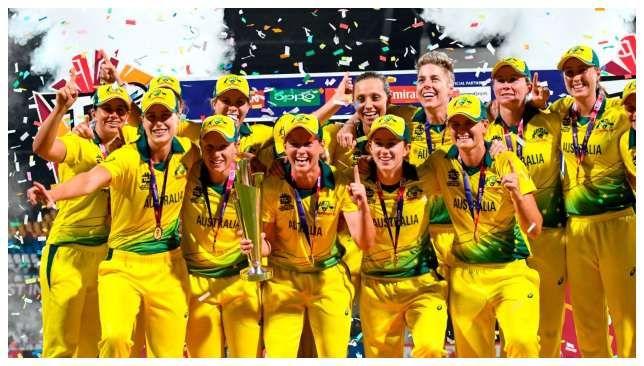 Australia Women S Team Prize Money To Equal Men S At 2020 T20 World Cup World Cup Australia Cricket Team Cricket