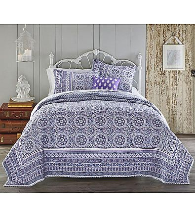Jessica Simpson Mosaic Border Quilt Collection | Younkers