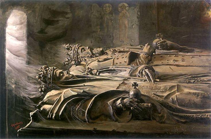 Leon Wyczółkowski - Sarkofagi, 1895