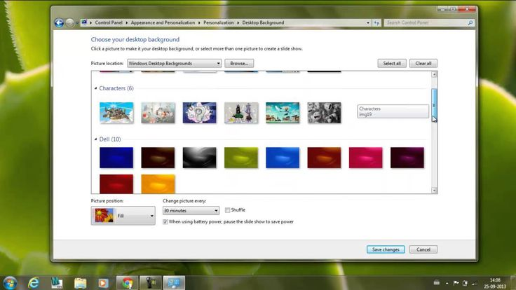 How To Change Desktop Background In My Dell Laptop? - YouTube