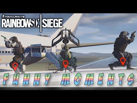 Everybody On Vacation || Rainbow Six Siege LOL Moments