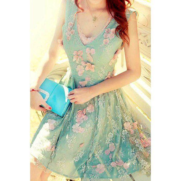 Embellished Lace Dress, so fairy~~
