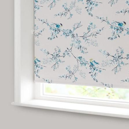 Duck Egg Mila Blackout Roller Blind Dunelm Color