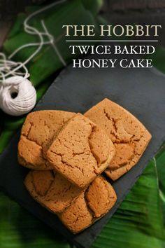 the hobbit twice baked honey bread recipe | Food in Literature brytontaylor.com