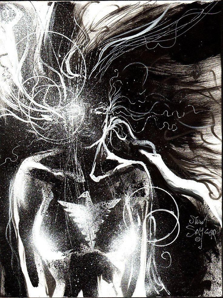 "thebristolboard:  "" Dark Phoenix by Stuart Sayger.  """