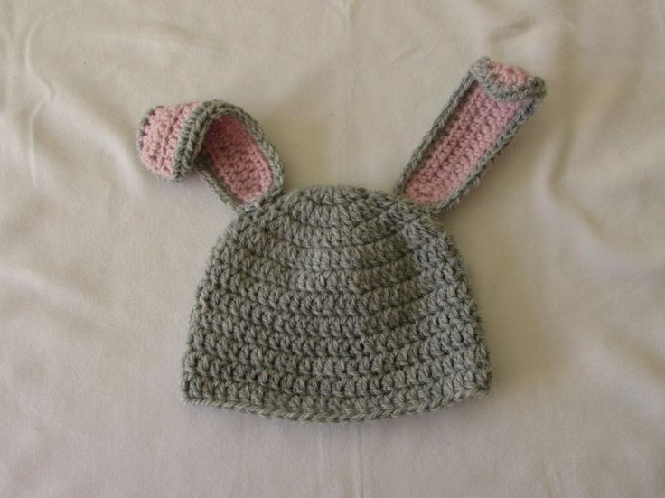 VERY EASY crochet baby / child's bunny hat tutorial - Part 1