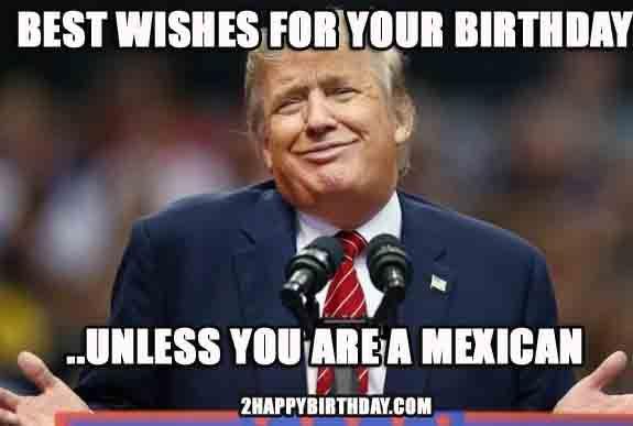 Funny Mexican Birthday Meme