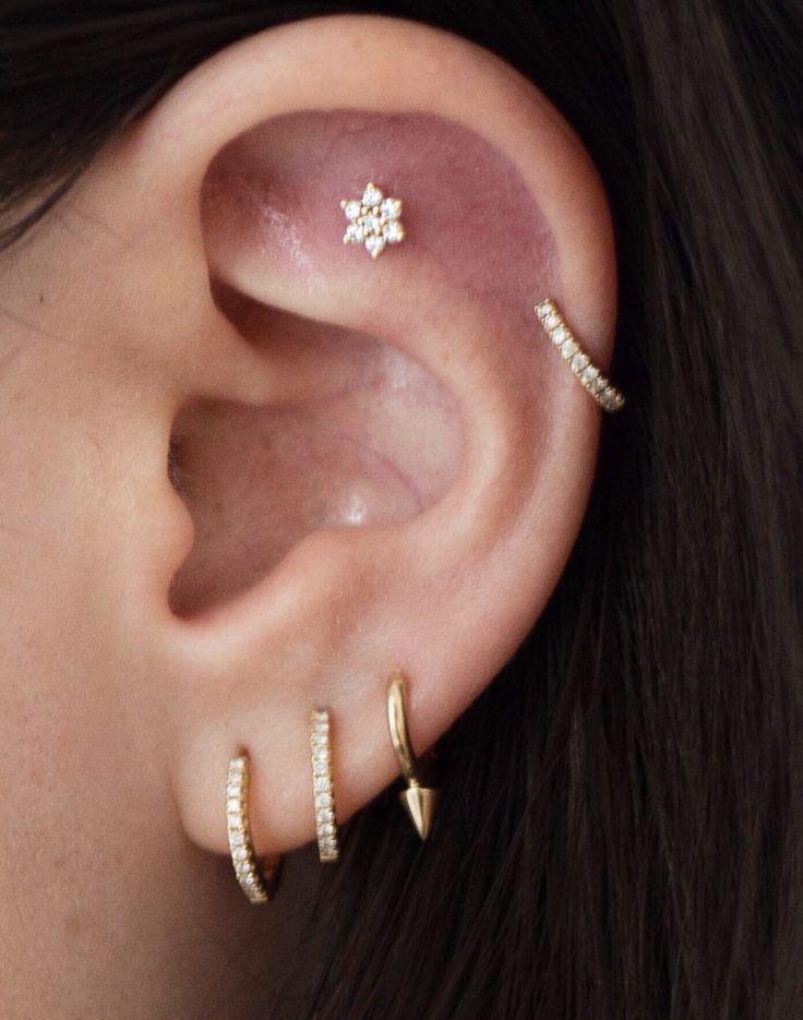 Hottest Absolutely Free Dermal Piercing Ankle Tips Ruby Earrings