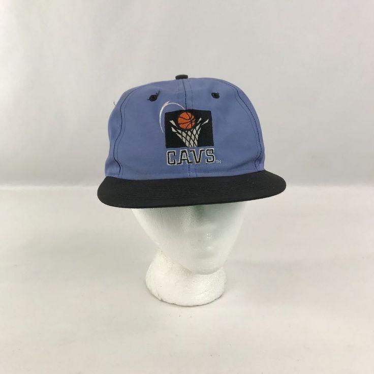 Cleveland Cavaliers Snapback Hat Cap NBA Basketball Cavs Logo 7 Blue Stitched #Logo7 #BaseballCap