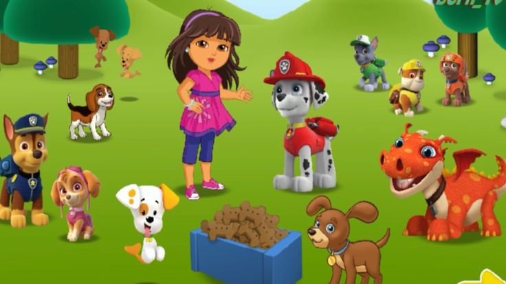 Puppy Playground Game Fun Nick Jr. Video for Little Kids