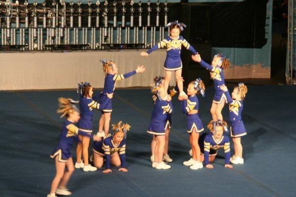 basic cheerleading stunts - Google Search