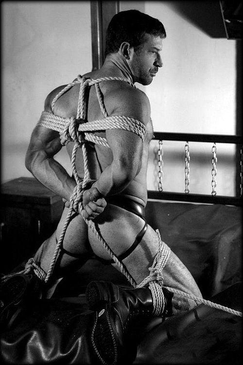 Women putting men in bondage