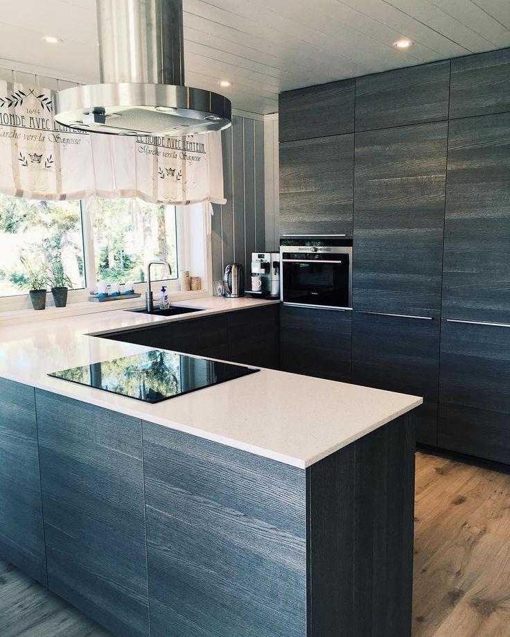 Pusse opp kjøkkenet på hytta? Denne kunden valgte #icewoodbykvik!  #kvikkitchen…