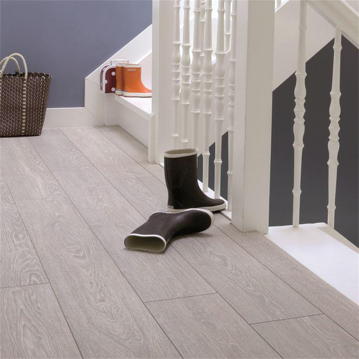 Tarkett 8mm 2.005m Linen Wood Laminate Floor Bunnings