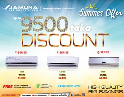 "Check out new work on my @Behance portfolio: ""Air Conditioner Ad for Jamuna"" http://on.be.net/1eJEueJ"