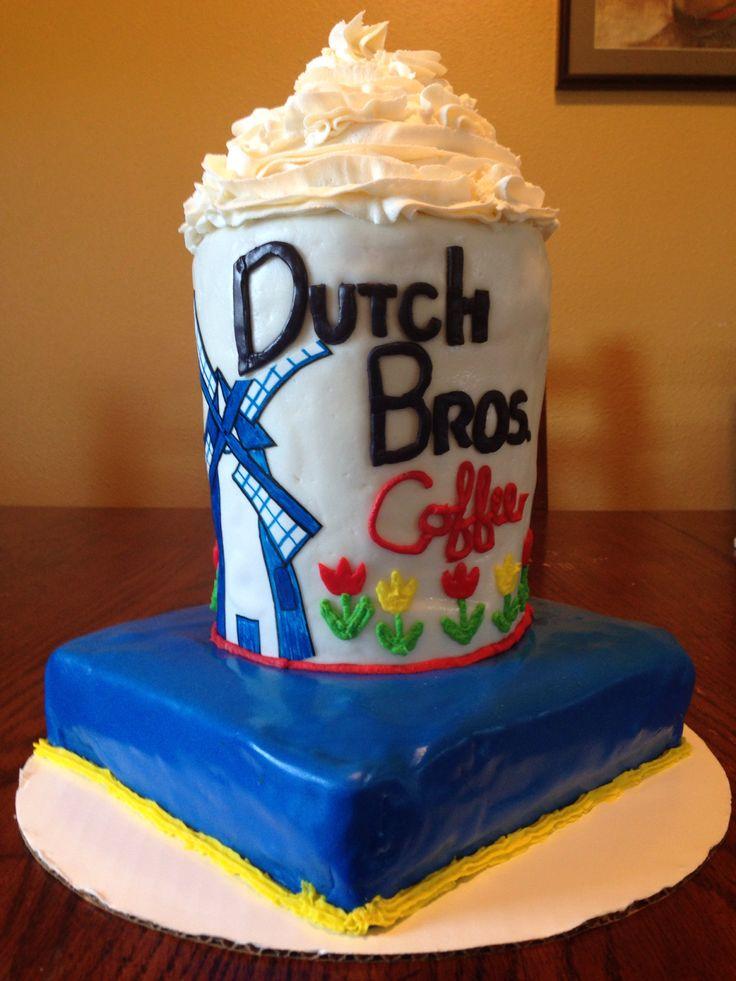 Dutch Bros Birthday Cake Drink