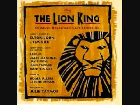 They live in you - The Lion King Broadway Soundtrack  ngonyama nengw' enamabala  Wait There's no mountain too great Hear these words and have faith Have faith  They live in you They live in me They're watching over Everything we see In every creature In every star In your reflection They live in you