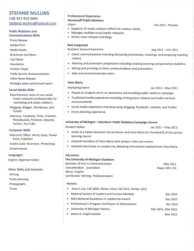 28 best Resume-!! images on Pinterest Creative, Creative resume - promotion on resume