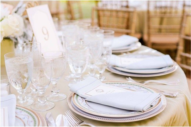 Clear luxury wedding glassware and champagne glasses by Susan Gage Catering | Blush and green centerpiece by Sidra Forman Flowers | Clear white tent by Sugar Plum Tents | Elegant and luxury design by DB3 Design | Ana Isabel Martinez Chamorro associate photographer for Mike Buscher Photography