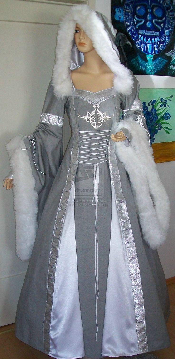 Dress Selina by Azinovic on deviantART