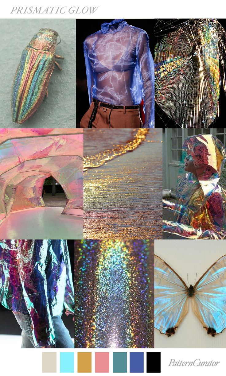 PRISMATIC GLOW by PatternCurator ss18