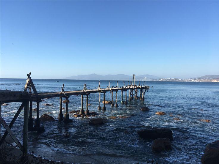 Horcón Playas Costa región de Valparaíso Chile