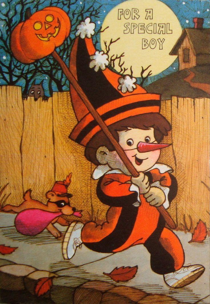 Vintage Halloween Cards | Vintage Halloween Card | Halloween Spookies!