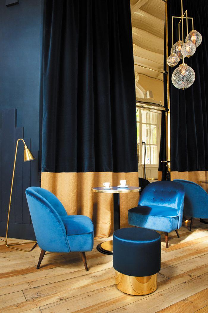 Les 25 meilleures id es de la cat gorie rideaux salon sur - Bar a rideaux ...