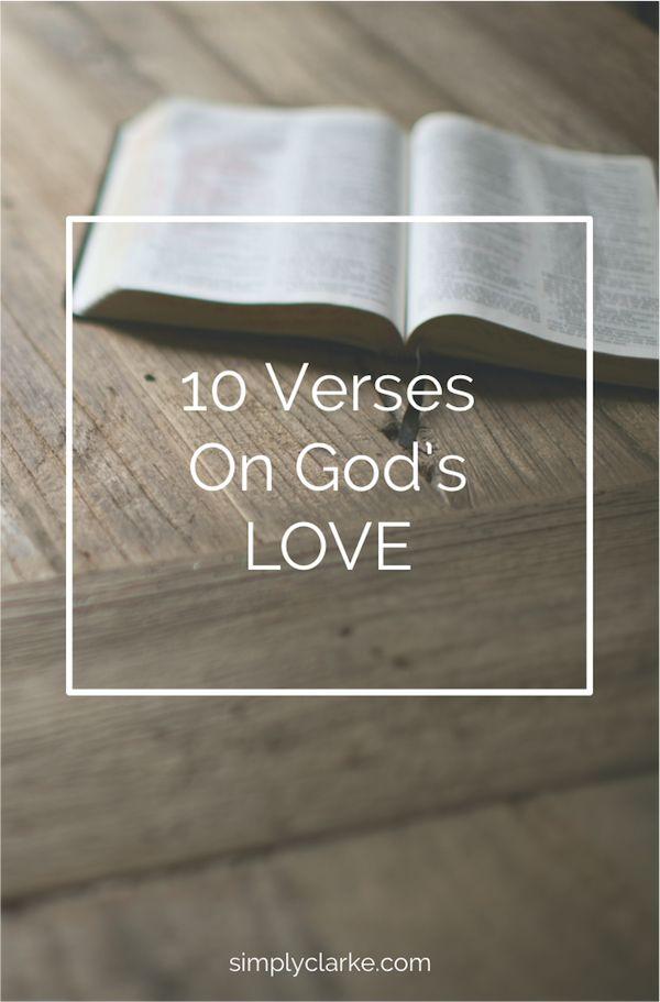 10 Verses on God's Love