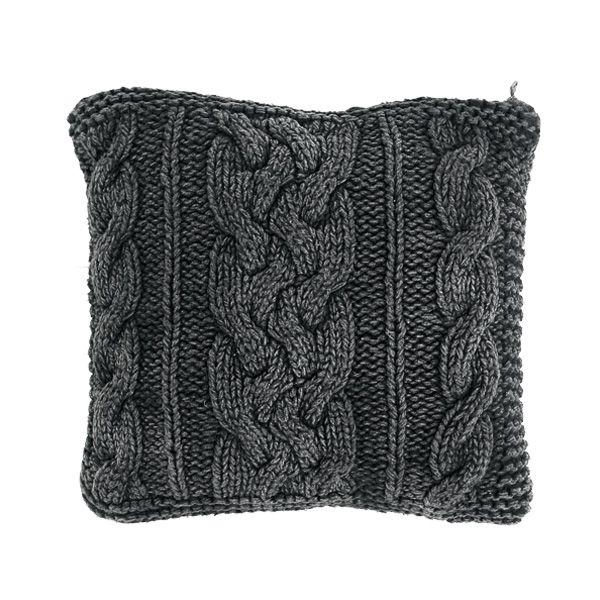 Waarom in de winkel kopen als je het ook zelf kunt breien? Het breipatroon van dit kussen is gemaakt op basis van een voorbeeld in de winkel. Veel succes!
