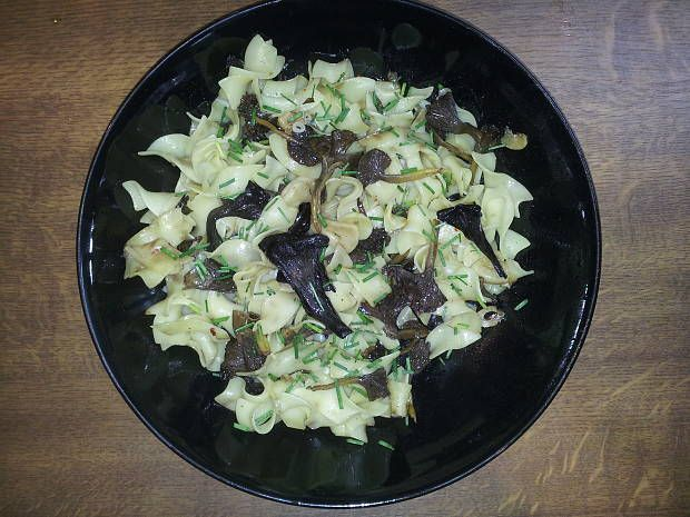 Recepty na jedlá z húb a lesných plodov