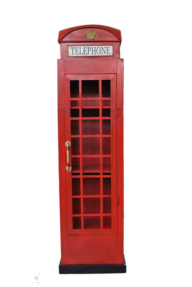 Awesome Details zu Telefonzelle Englische H he xBreitexcm London Dekoration und Schrank