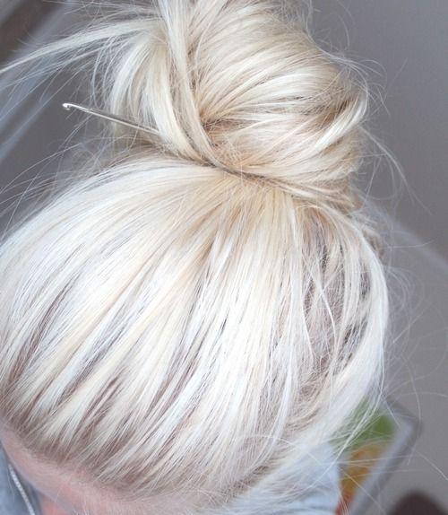 (100+) Tumblr #hair #blonde
