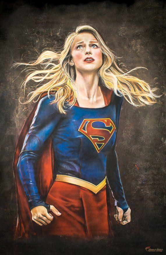 Supergirl Print Etsy Melissa Supergirl Supergirl Comic Supergirl Series