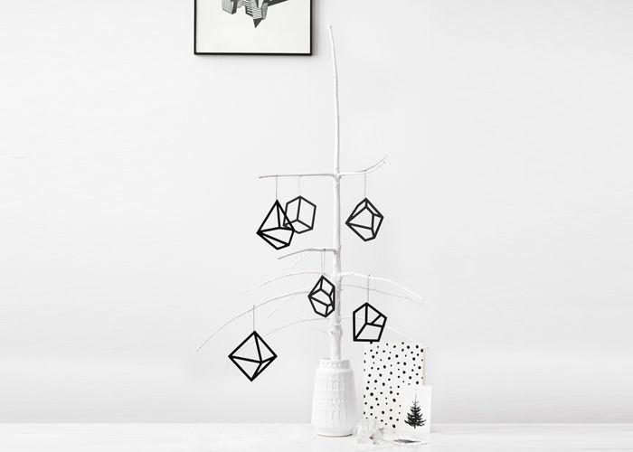 Kristina Dam Studio ophæng - Tinga Tango Designbutik. Interiørbutik - Interior - Children - Børn - Toys - Legetøj - Brugskunst - Design - Kunst - Webshop - Billig fragt - illustrationer - porcelæn - keramik - Black - Sort