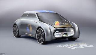 Modern Science: Car-ma chameleon: BMW testing Mini concept car tha...