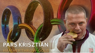 Pars Krisztián - Hungarian Gold medalist in hammer throw at the Olympic Games London 2012  www.edelland.com