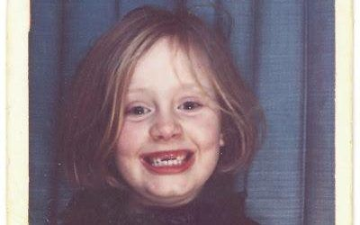 The cover of Adele's single When We Were Young