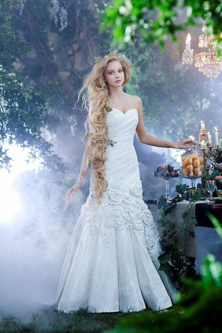 29 best disney bridesmaid dresses images on pinterest alfred the rapunzel wedding gown part of the disneys fairy tale weddings by alfred angelo bridal collection is ideal for a disney wedding ombrellifo Image collections
