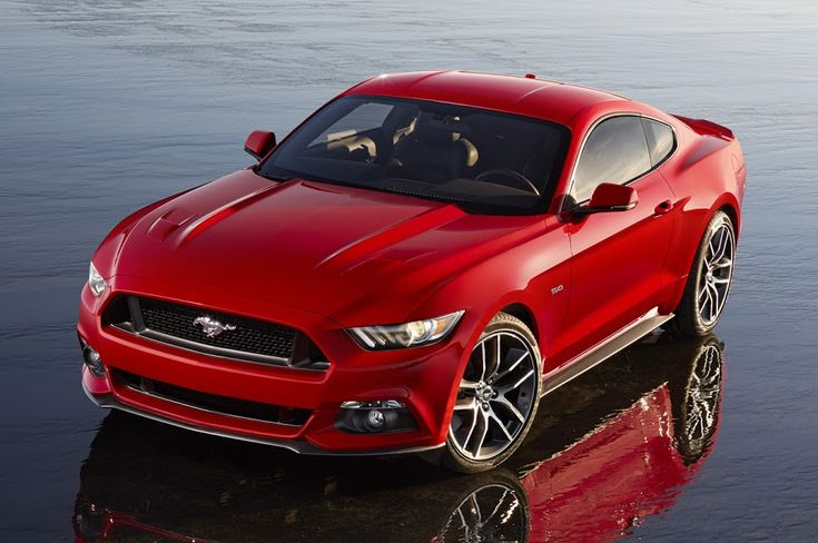 It's here! The NEW 2015 Ford Mustang! Click on the pic to be the first to see more photos