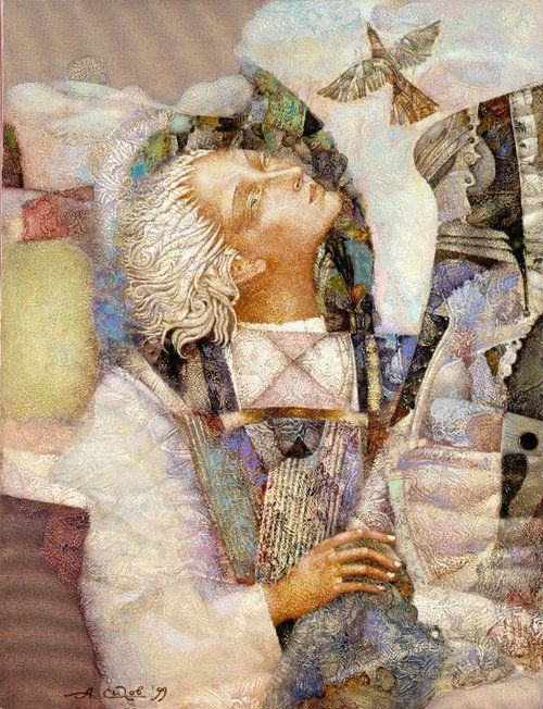 by Alexander Sigov, Russian surrealist, born 1955