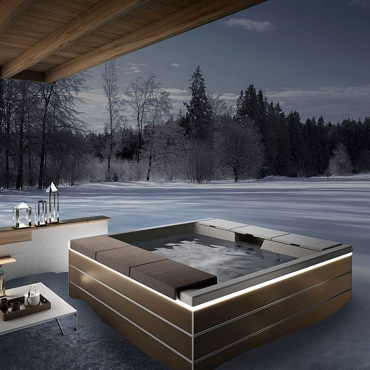 deco jacuzzi exterieur maison design. Black Bedroom Furniture Sets. Home Design Ideas