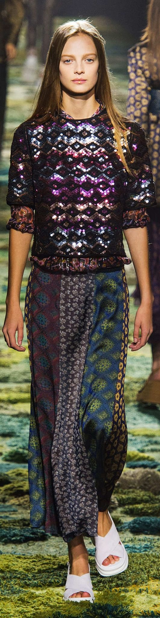 Dries Van Noten Collection Spring 2015 | The House of Beccaria~