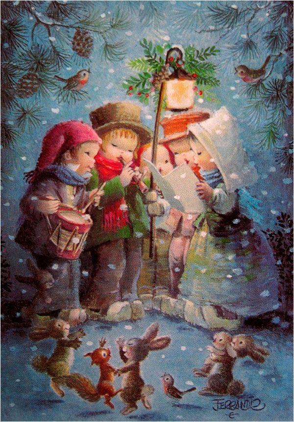MANUEL FERRÁNDIZ - ILUSTRADOR - Navidad-Cuentos-Comuniones-Cuentos de Ferrándiz-Postales Ferrándiz-Rafael Castillejo-Zaragoza