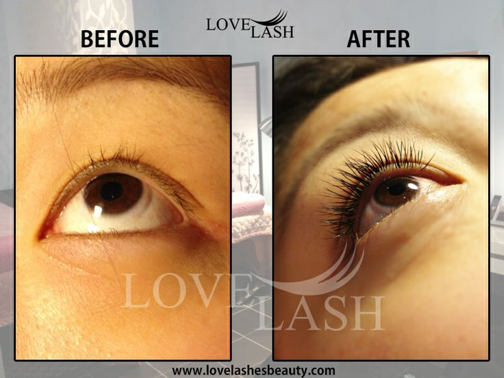 lovelashesbeauty.com Before and After Men and women alike have often reported looking and feeling younger after having eyelash extensions applied. We believe that eyelash extensions have a dramatic effect on improving the overall look for men as the lashes are completely natural looking and add just enough volume for this reason we like to do equally marketing for male customers as we do for female