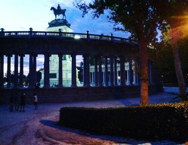 El Retiro, Madrid #Spain #Madrid #park #travel