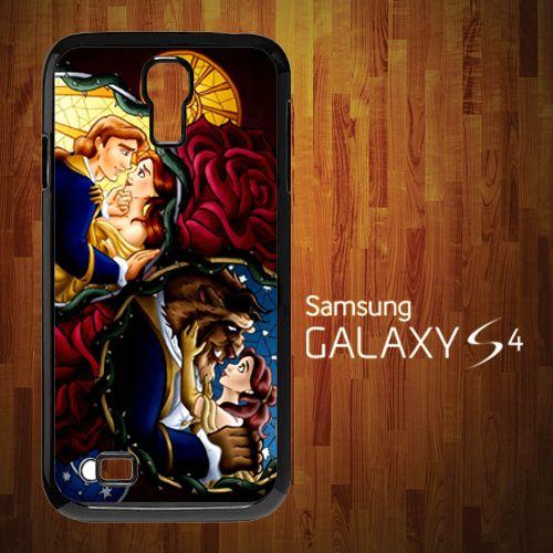 B-1005 Beauty The Beast Disney Poster Samsung S4 Case | statusisasi - Accessories on ArtFire