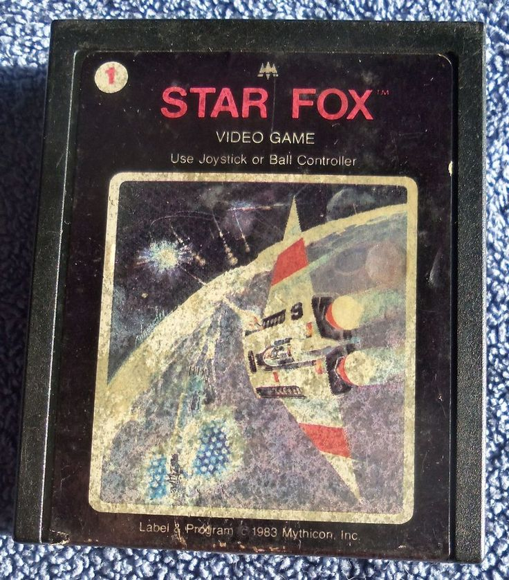 Atari 2600 - Star Fox - game cartridge only - tested, working - VG